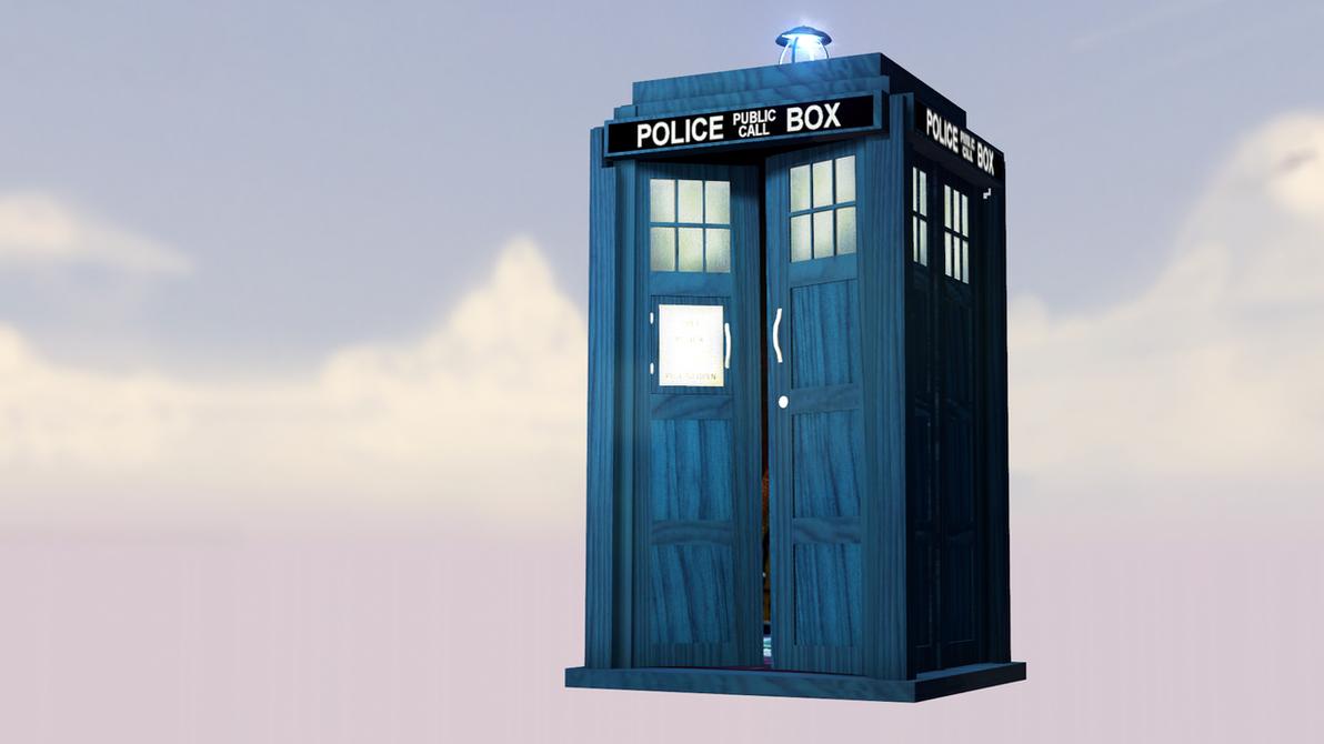 [DL] UPDATED V.2 TARDIS for SFM by Astonov