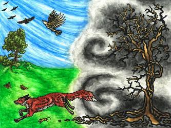 ash cloud by wildelbenreiter