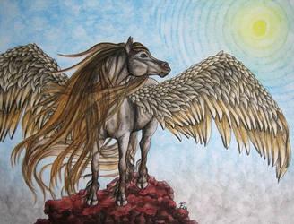 Pegasus by wildelbenreiter