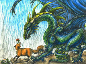 the fox and his dragon