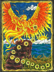 fiery Angel by wildelbenreiter