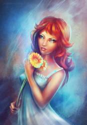 Flower by ElenaDudnakova