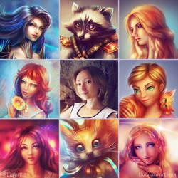 Art Vs Artist by ElenaDudnakova