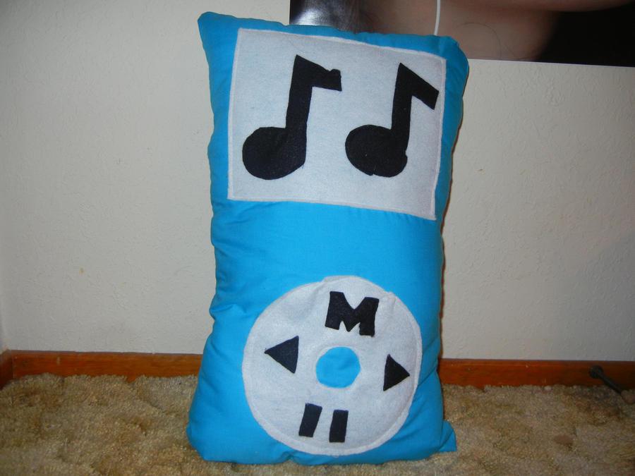 iPod Pillow by FlowerPhantom ...