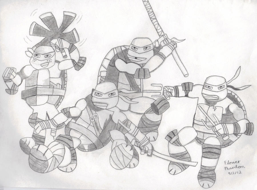 tmnt coloring pages ralph 2012 - photo#33