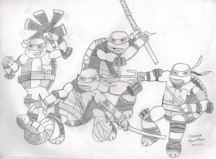 Nick Teenage Mutant Ninja Turtles Coloring Image Gallery HCPR