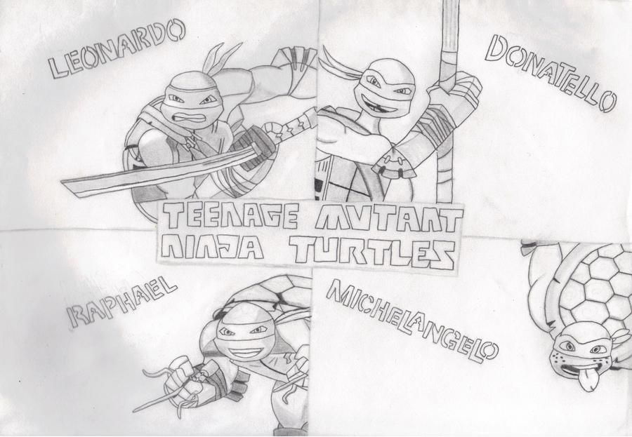 2012 Teenage Mutant Ninja Turtles Background by FlowerPhantom on ...