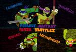 2012 Teenage Mutant Ninja Turtles BG Colored