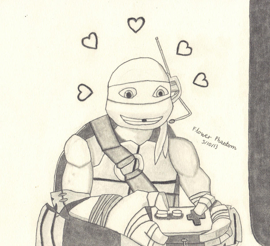 Tmnt Coloring Pages April : Tmnt she s so beautiful by flowerphantom on deviantart