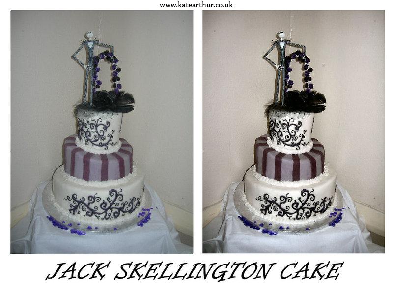 Jack Skellington Cake By Squirrel Di Bob69 On Deviantart
