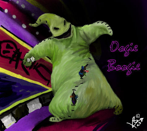Oogie Boogie Wallpaper Oogie Boogie by