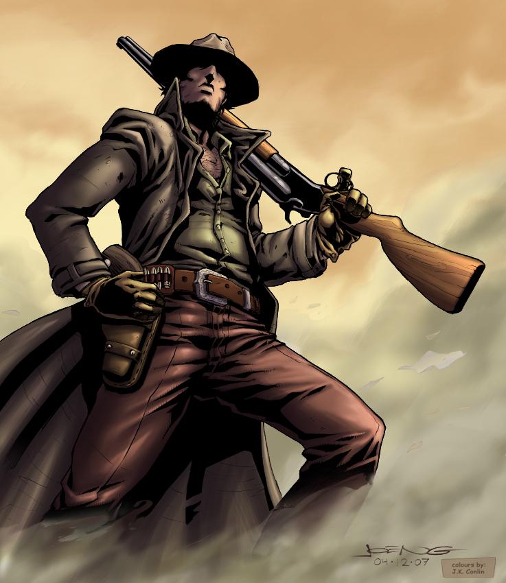 ♕ SPIRIT BRINGERS: EMPYREAN REALM. (SAGA DE VALAFLAM) - Página 2 Ngboys_gunslinger_by_tokoa