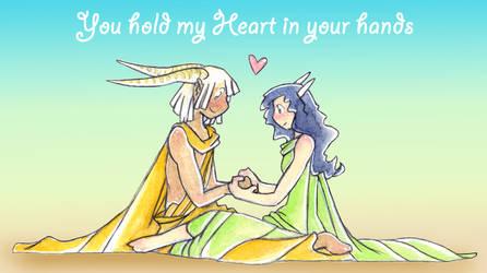 My Heart by ailathehealer