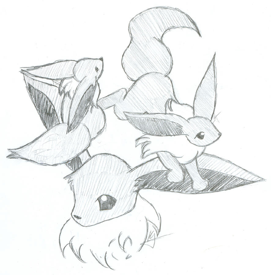 Ice type pokemon coloring pages -  Eevee Evolution Coloring Pages Eevee By Ailathehealer