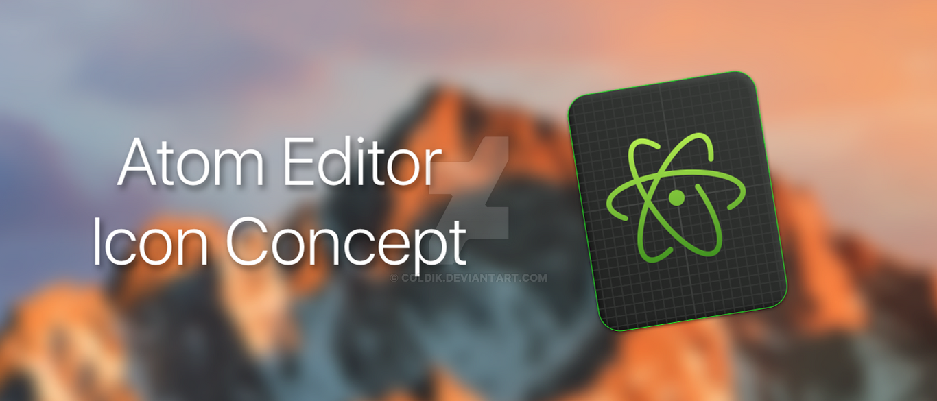 Atom Icon by coLdik