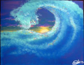 Waves by blackwolf13