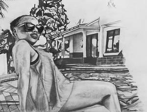 Pencil body drawing