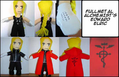 UFO Plush-FMA's Edward Elric