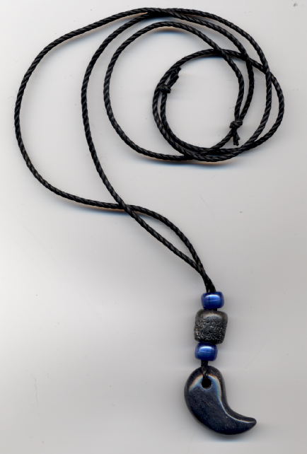 Magatama sodalite jewel by kinjouten on deviantart magatama sodalite jewel by kinjouten mozeypictures Image collections