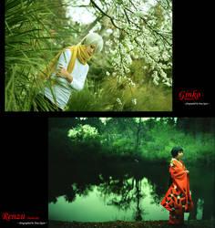 Cosplay: Mushishi by hakuku