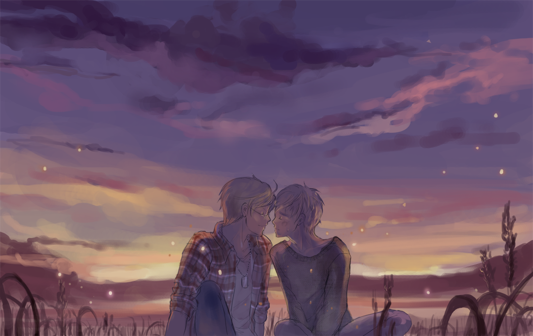 USUK- summer dusk by hakuku