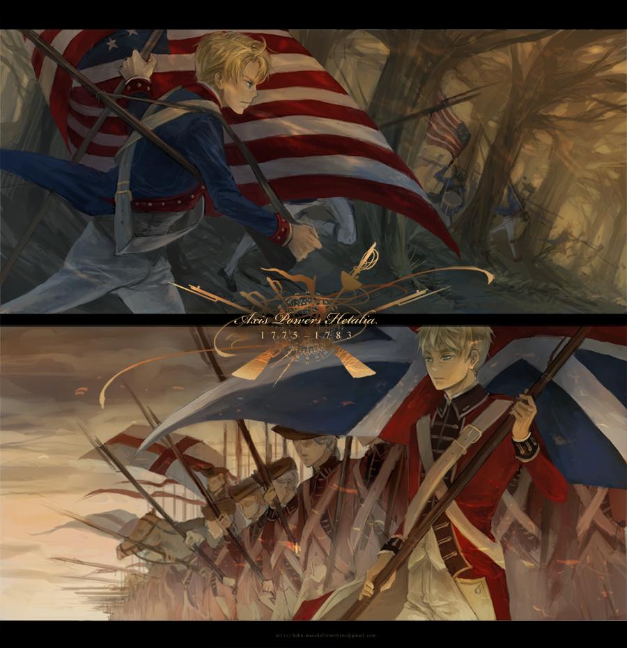 Hetalia American Revolution hetalia war fav...