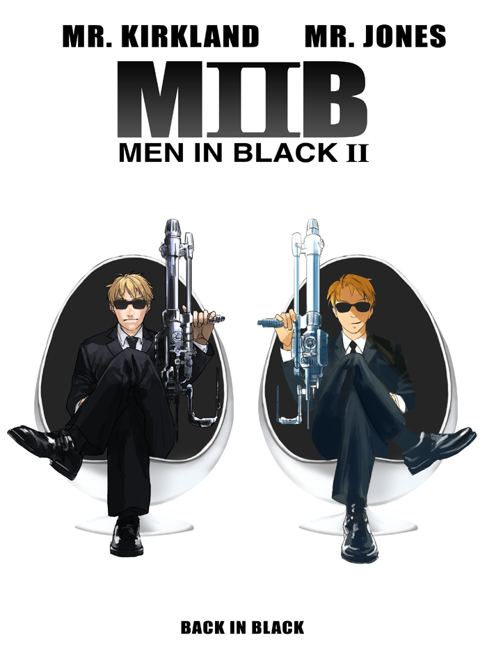 Merveilleux MIB Crossover By Hakuku ...