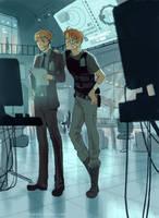 C.T.U agents by hakuku