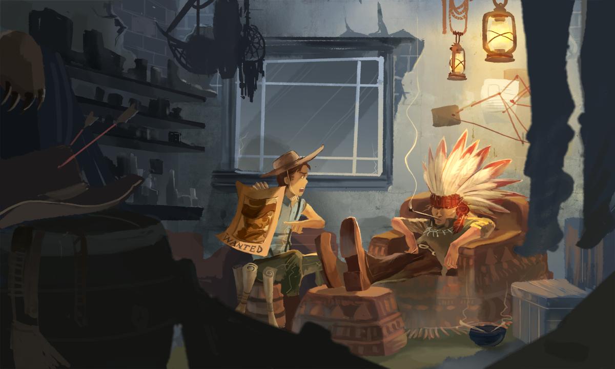 Sherlock re-design: wild west by hakuku