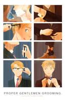 proper gentlemen grooming by hakuku