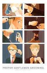 proper gentlemen grooming