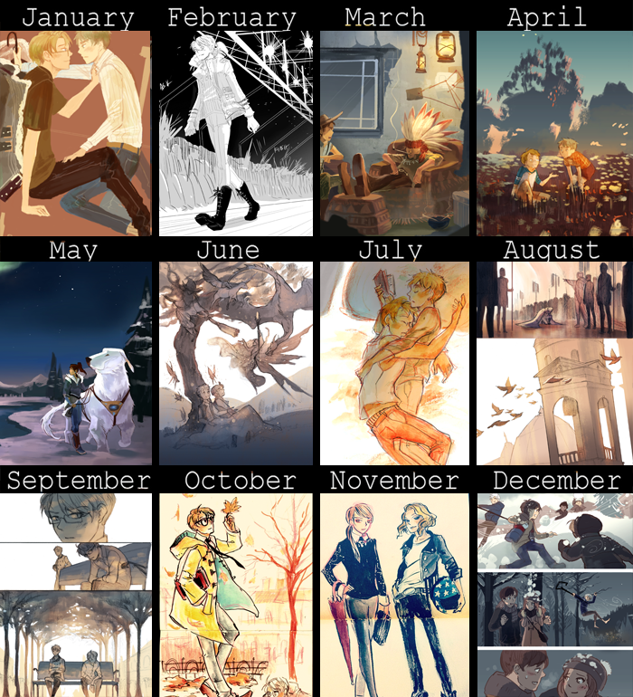 2012 Art summary by hakuku