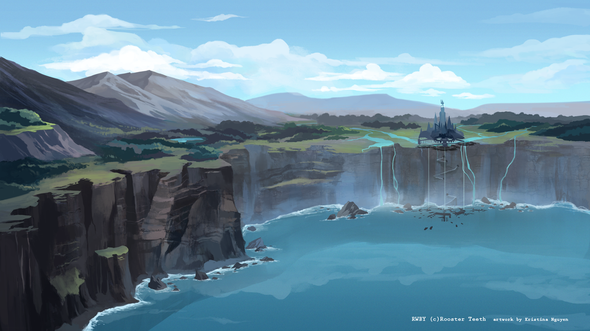 RWBY- Cliffside by hakuku
