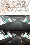 RWBY: Airship interior