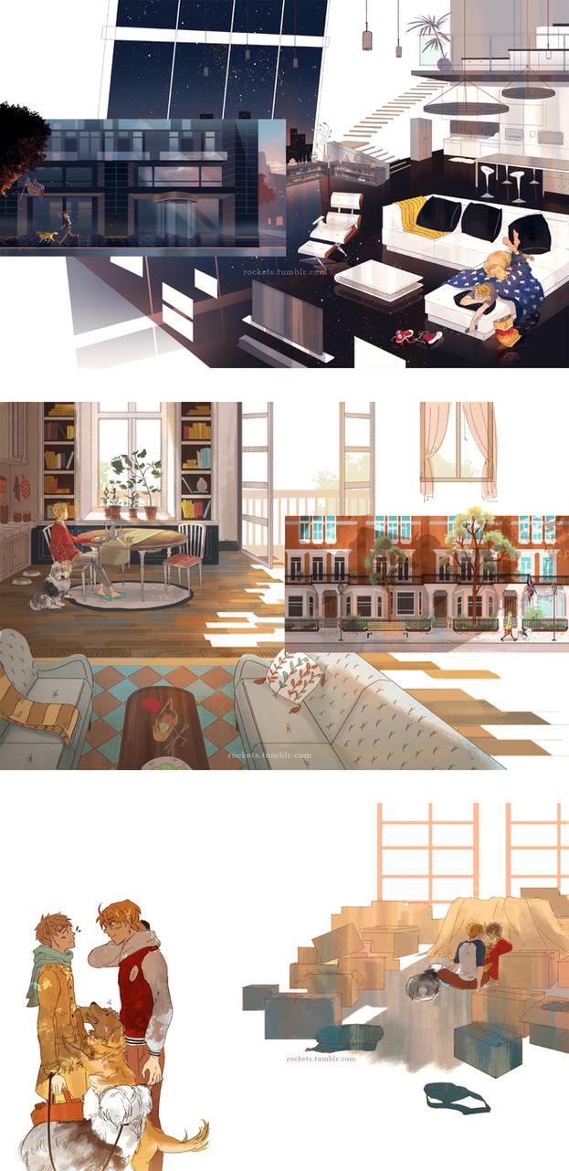 Home Sweet Home by hakuku