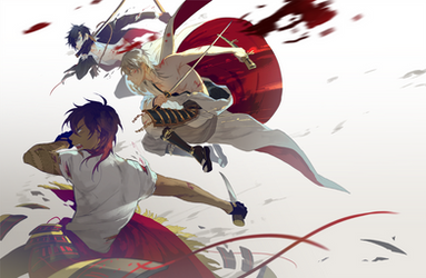 Masumane swords by hakuku