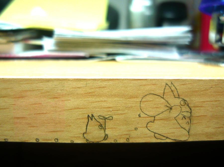 Totoros by random-lil-azn