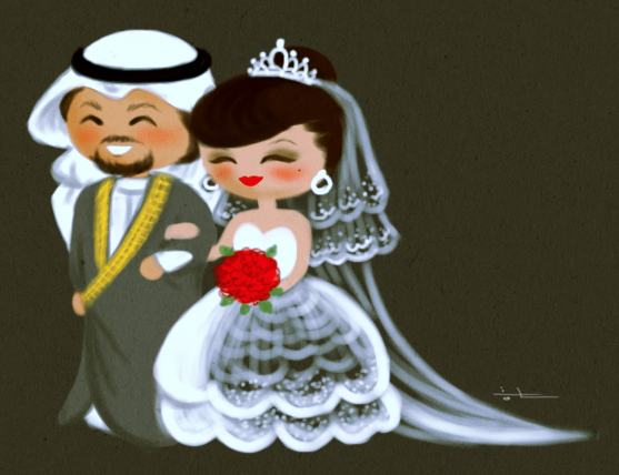 just married by saroOony