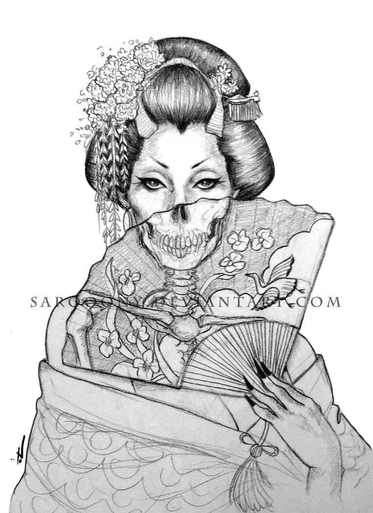 Geisha By Saro Sah On Deviantart