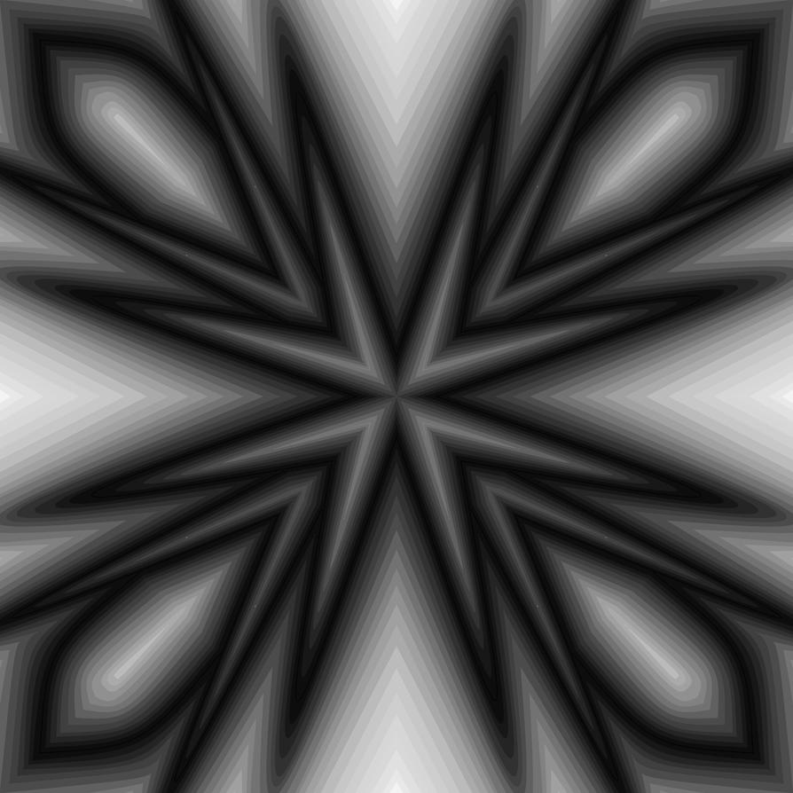 Very Simple Pointy Star by rayna23