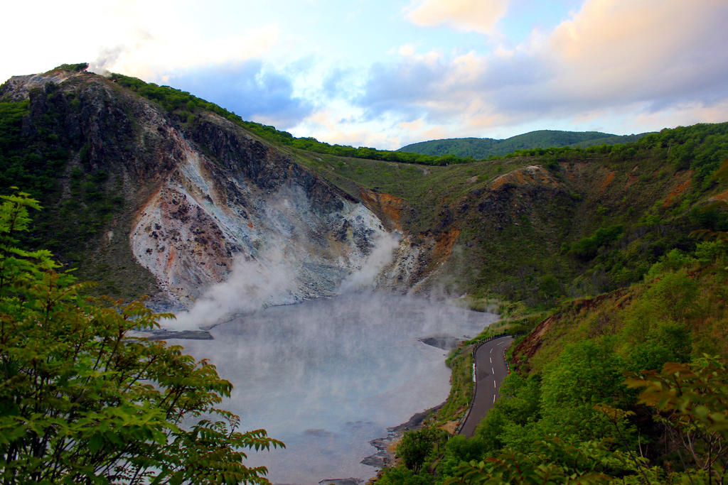 Beautiful Smoking Lake by rayna23
