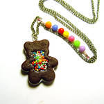 Candy Chocolate Bear Cookie..