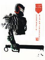 Judge Dredd by Geoffo-B
