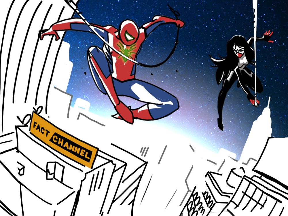 Infinite Comics Layouts  BtS Week 02 ASMSilk 10 by Geoffo-B
