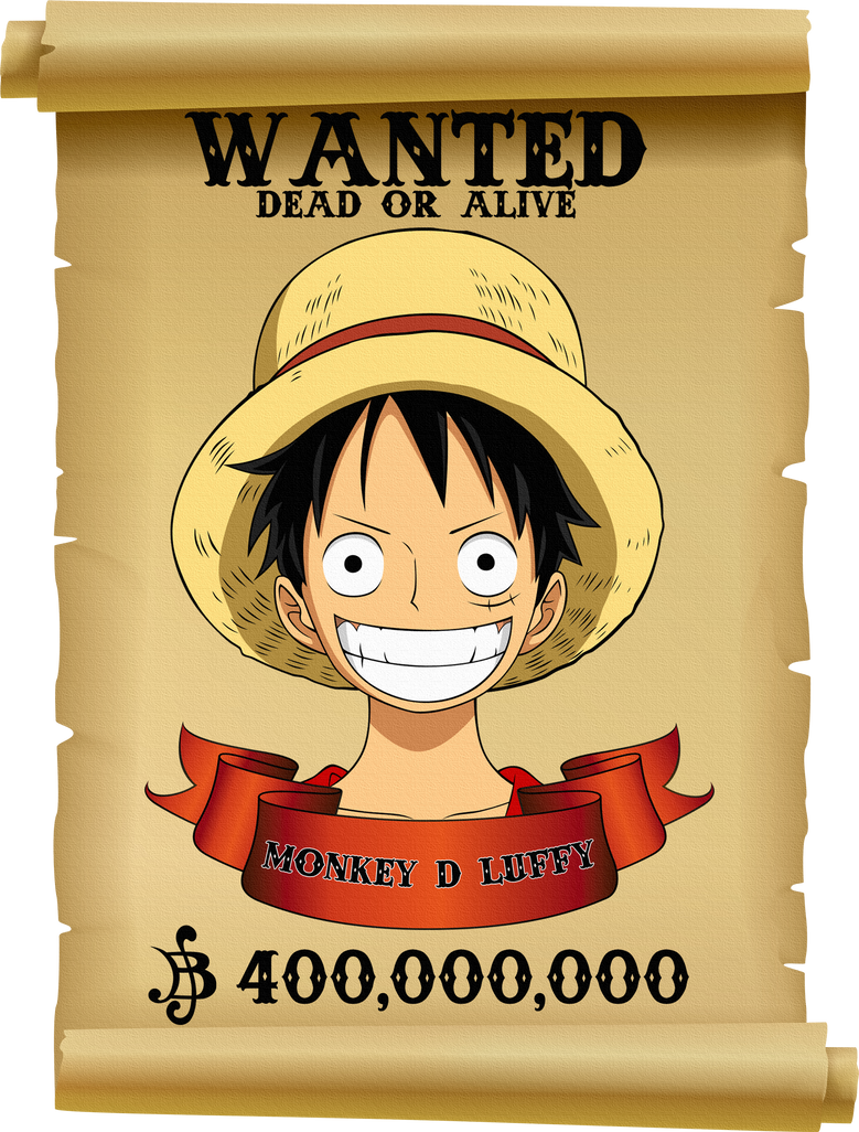 Luffy wanted 2 by xxriddickxx on deviantart - One piece luffy wanted ...