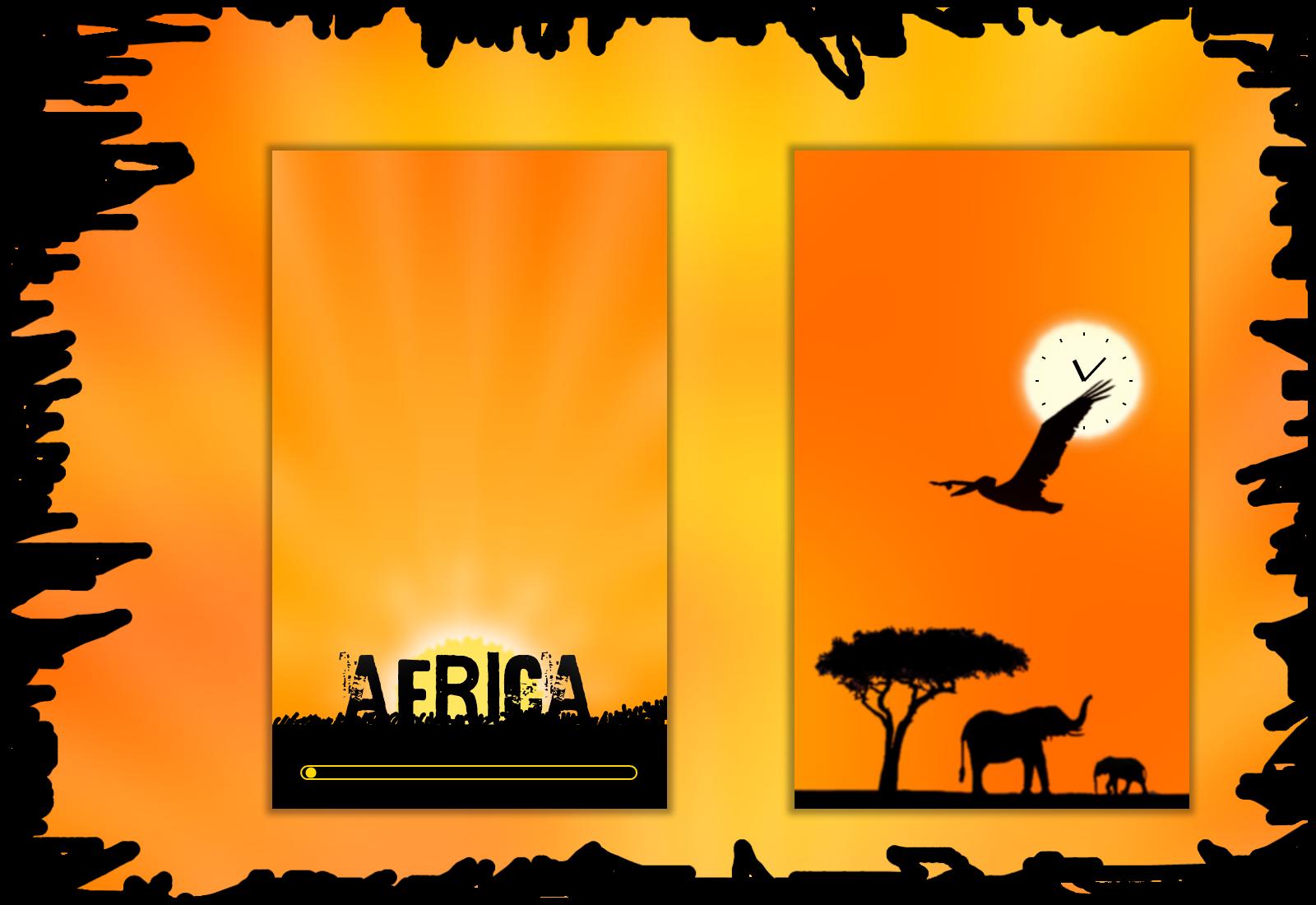 African Plains Theme by SilentWard on DeviantArt