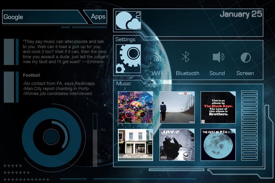 Idea for a future tablet theme by silentward on deviantart idea for a future tablet theme by silentward voltagebd Images