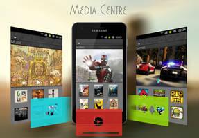 Media Centre by SilentWard