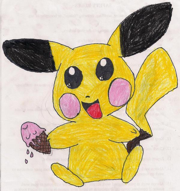 chibi_pikachu_likes_ice_cream_by_cutepic