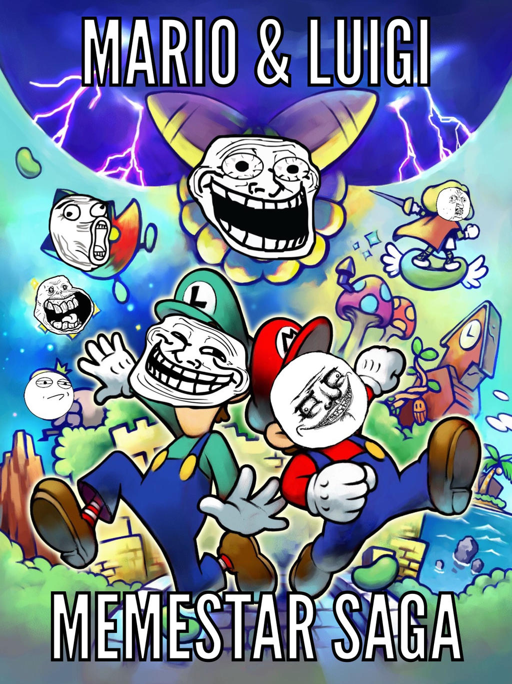Mario And Luigi Memestar Saga My Meme By Chase Da Umbreon
